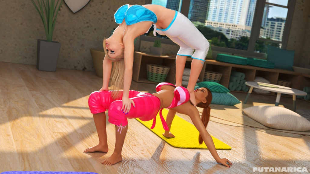 Futanarica Yoga Class - Mental Expansion sample 3
