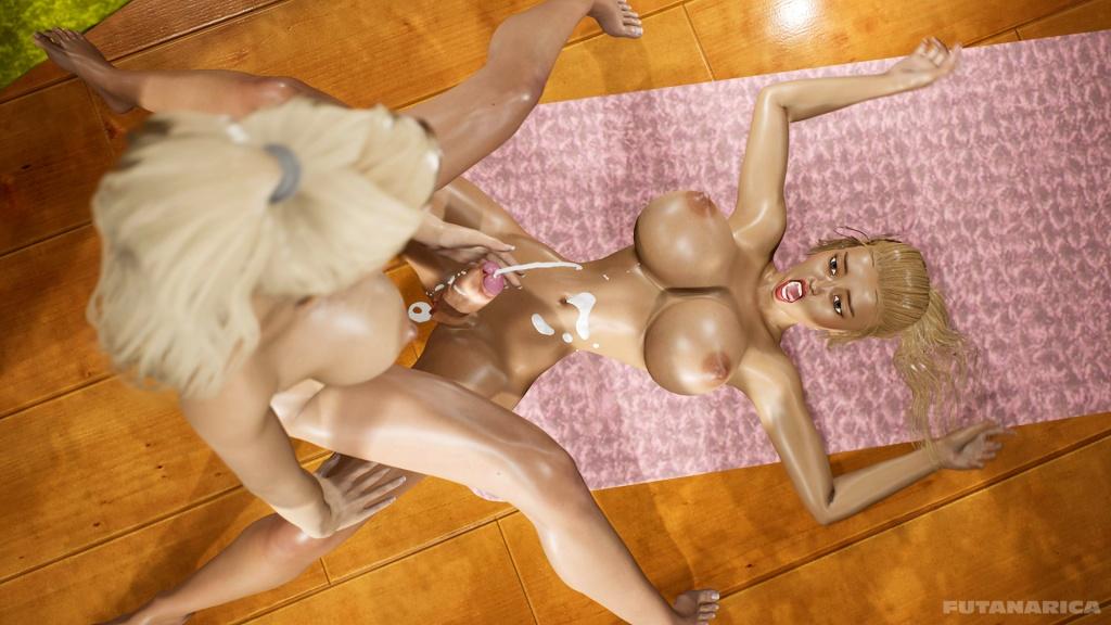 Yoga Class - Tantric Sex Basics 2 sample 6 futanari cum splash cumshot orgasm