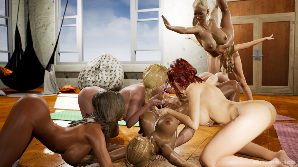 Yoga Class - Tantric Sex Basics 2 sample 11 futa cum splash cumshot swallow girls gangbang