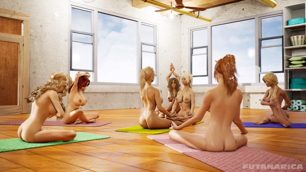 Yoga Class - Tantric Sex Basics 1 yogagirls and futanari master group nude yoga