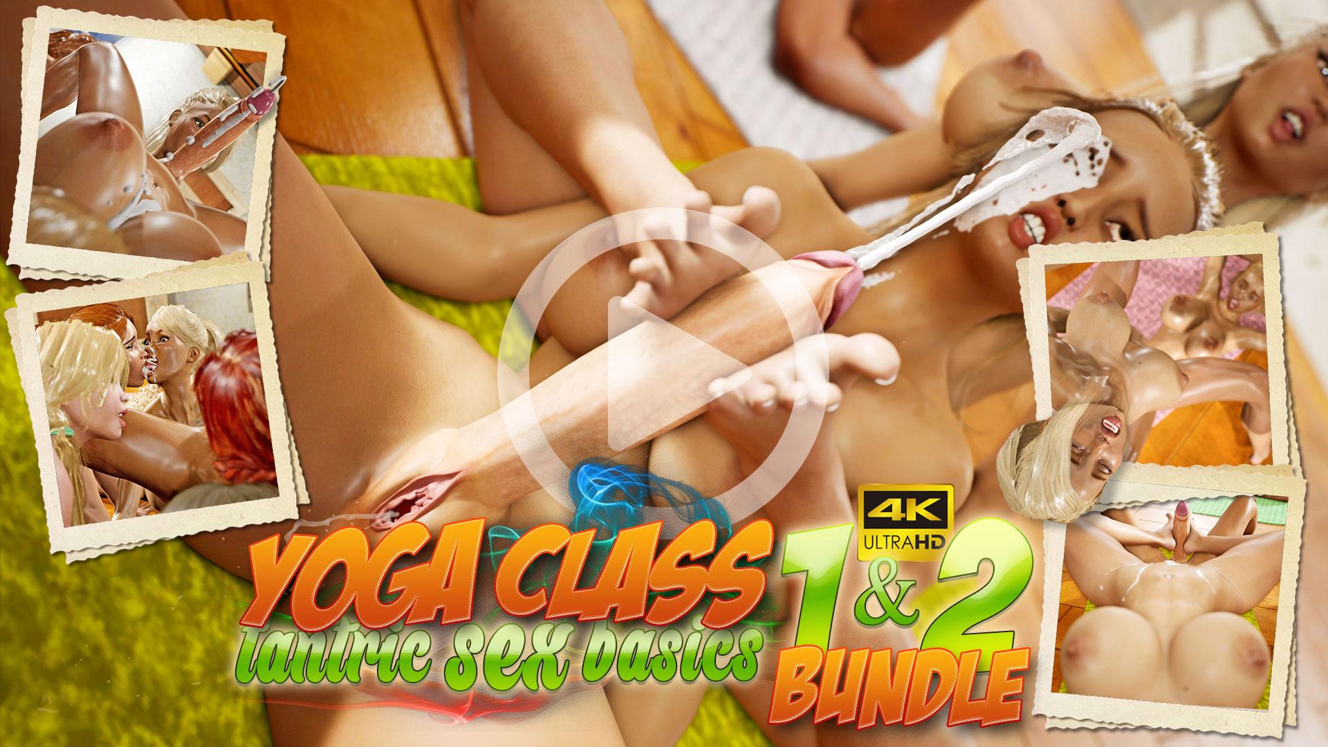 Yoga Class - Tantric Sex Basics Bundle 3DX video trailer
