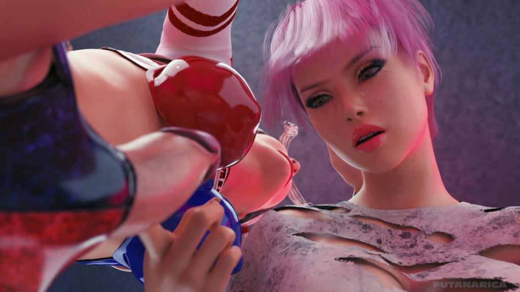 Cellmate - Familiarity Harley Quinn's futanari huge dick Delaney exploration