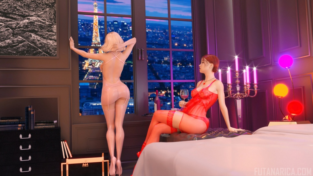 From Paris With Love futa fuck girl 3DX movie sample 2