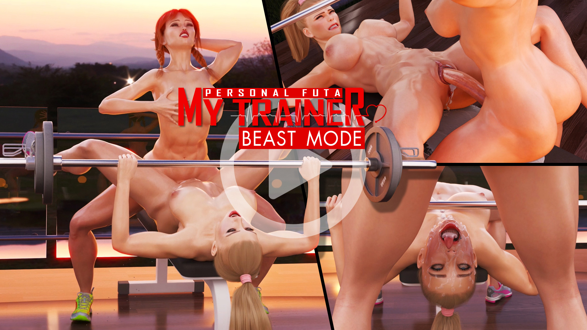 My Personal Futa Trainer - Beast Mode animation poster